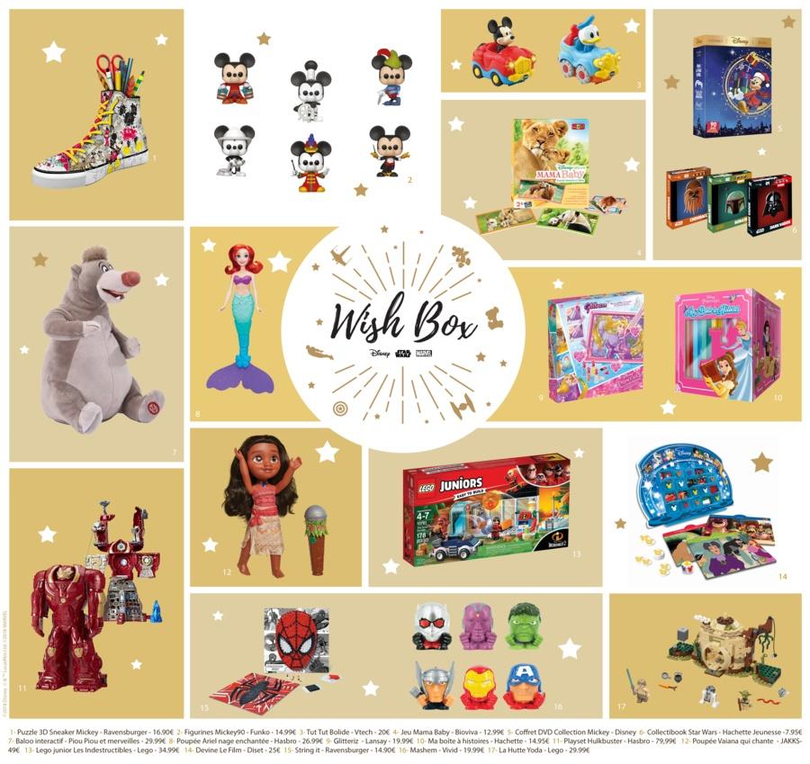 Disney Cadeaux de noël de dernière minute 01