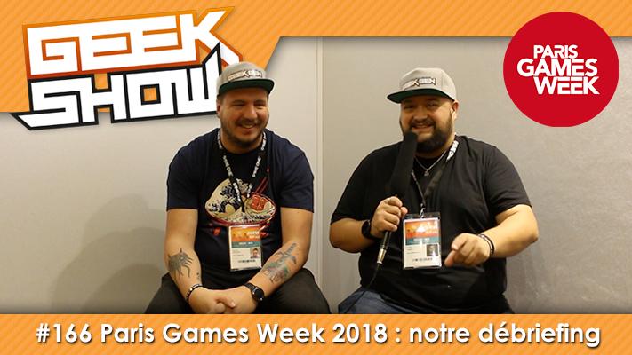 Geek-Show-2018-PGW 2018- Paris Games Week 2018
