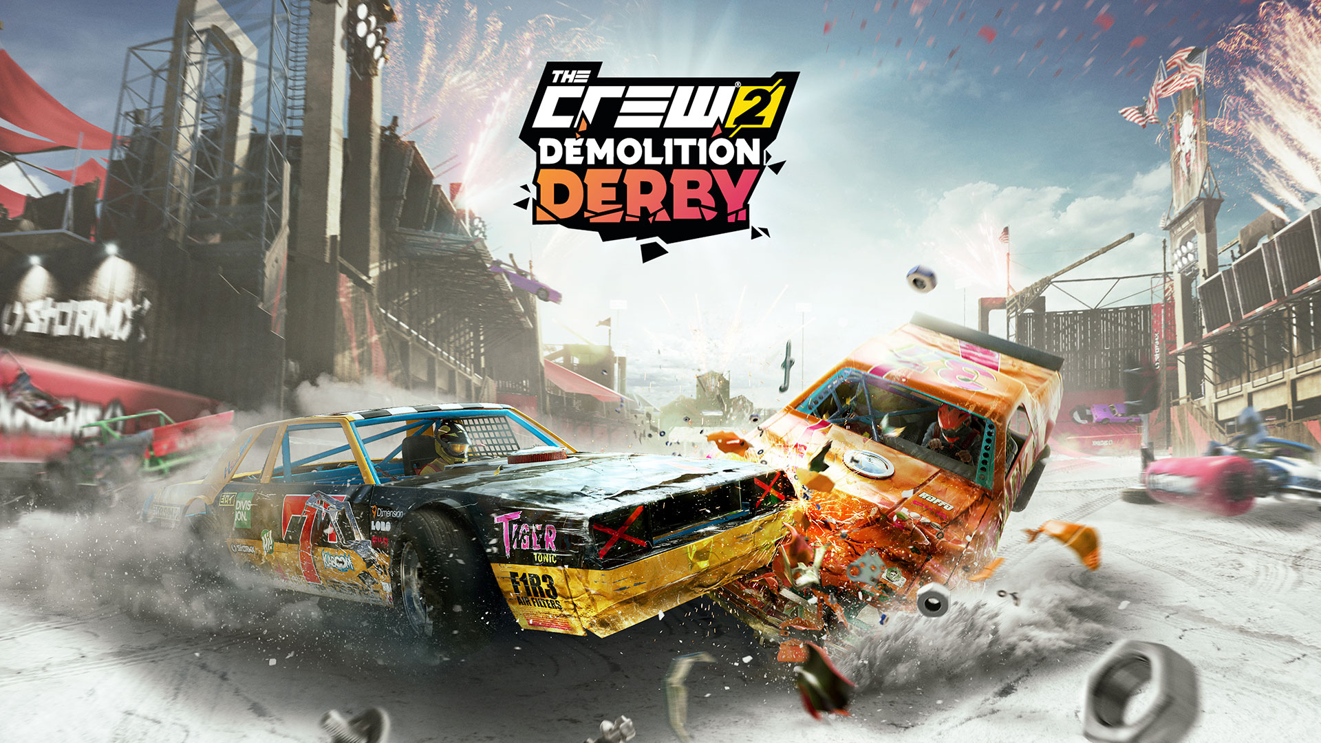 the crew 2 la seconde mise jour gratuite demolition derby arrive. Black Bedroom Furniture Sets. Home Design Ideas