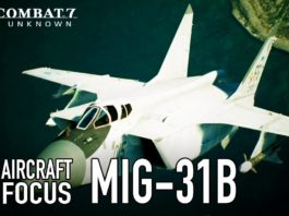 Ace Combat 7- Skies Unknown – le MiG-31B Foxhound