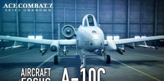 Ace Combat 7: Skies Unknown - A-10C