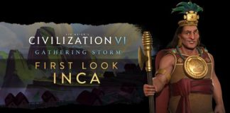 Civilization VI Gathering Storm Inca