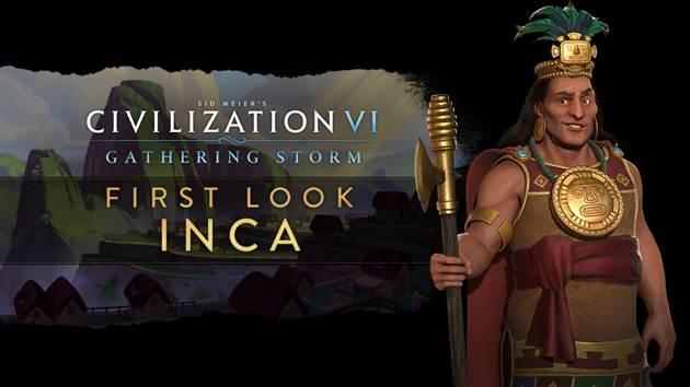 Civilization VI Gathering Storm Inca