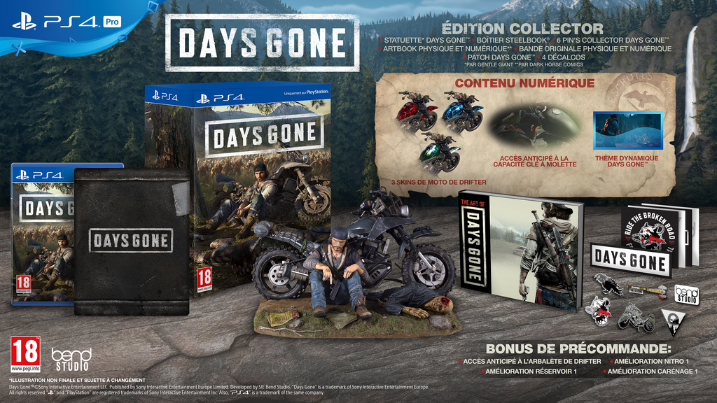 Days Gone Edition Collector