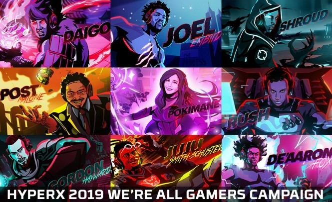 HyperX - 2019 - We're All Gamers