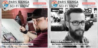 Paris Manga & Sci-Fi Show - Tyler Kirkham & Ryan Ottley