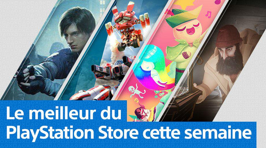 PlayStation Store - Mise à jour 21 janvier 2019