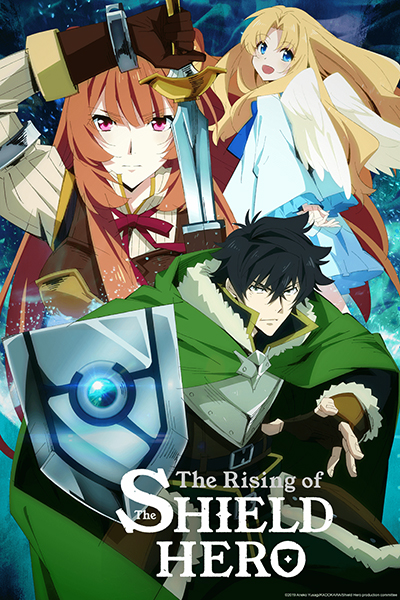 THE RISING OF THE SHIELD HERO Affiche