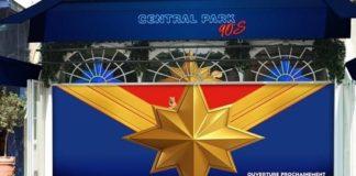 Central Park 90's Captain Marvel ©LesPrécieusesLibellules