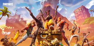 Fortnite BR08_Social_Launch_ScreenKeyArt_Announce