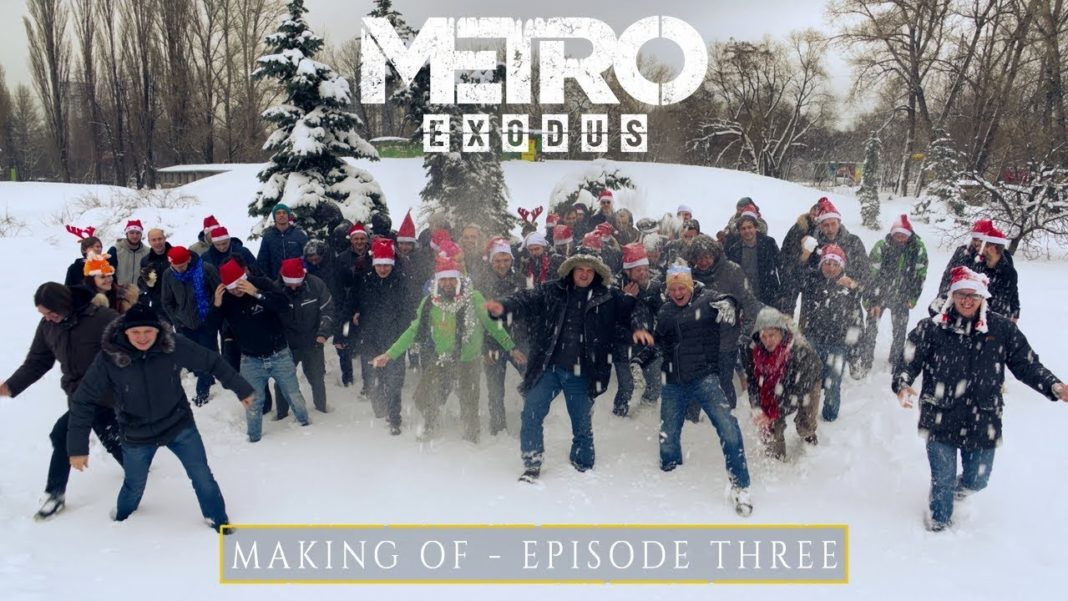 Metro Exodus Making of episode 3