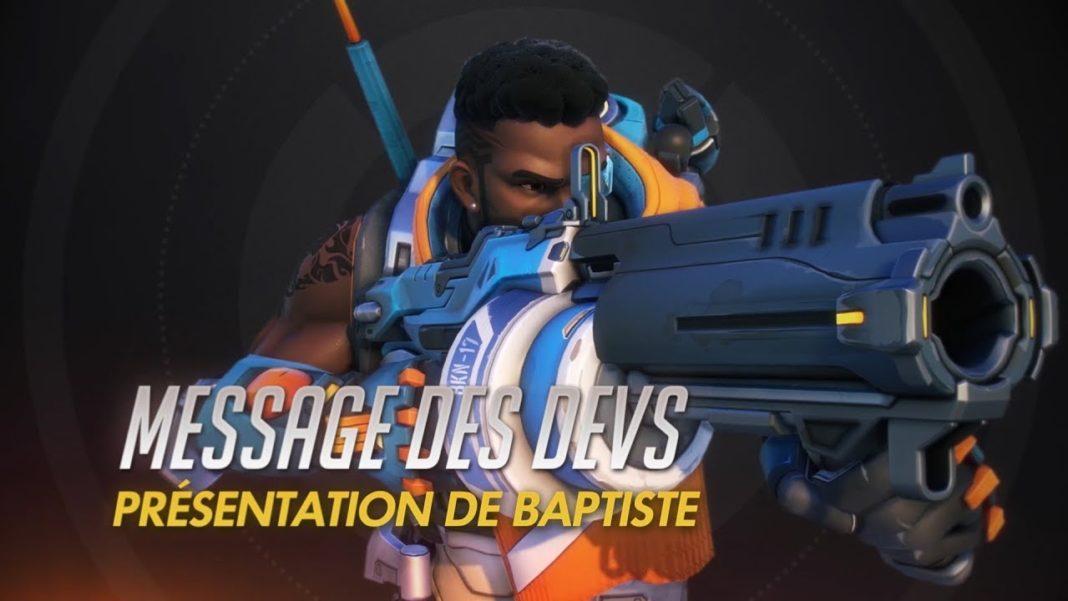 Overwatch Message des devs - présentation de Baptiste