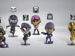 Ubisoft-Ubicollectible-Rainbow-Six-Siege-Six-collection---Bundle-série-3