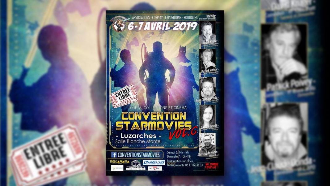 Convention Starmovies - les 6 et 7 avril 2019 à Luzarches (95)