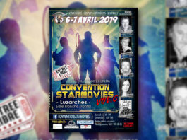 Convention Starmovies - les 6 et 7 avril 2019 à Luzarches (95)