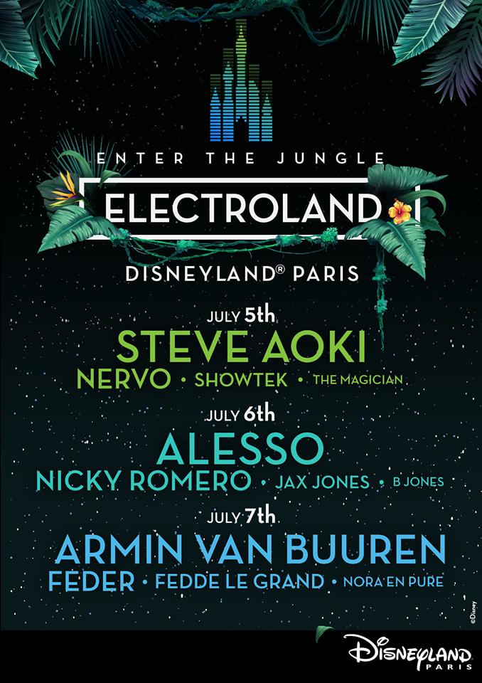 Electroland 2019 lineup