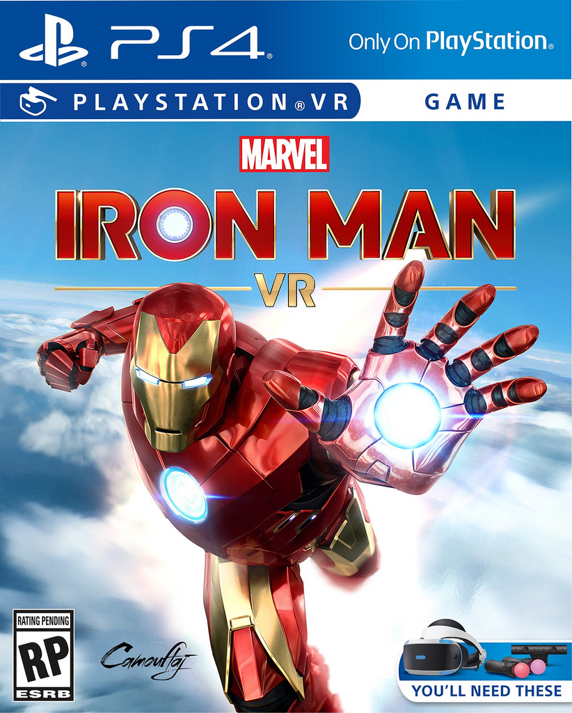 Marvel Iron Man VR Cover