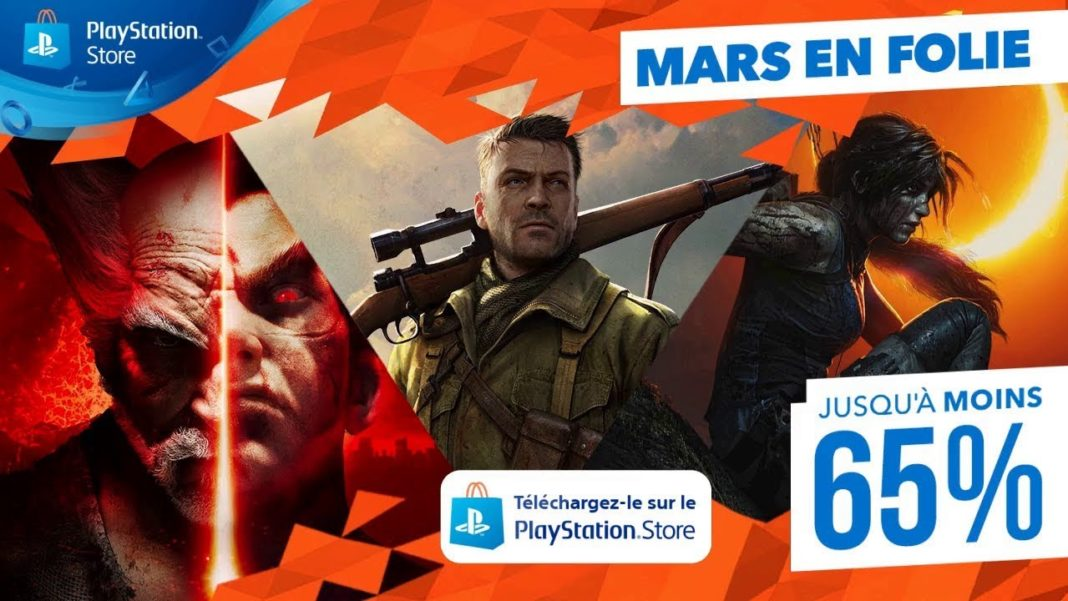 PlayStation Store | Promos Mars en folie