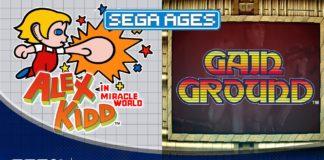 SEGA AGES Alex Kidd & Gain Ground