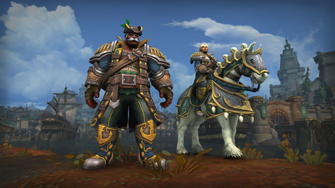 World of Warcraft: Battle for Azeroth_KulTiranHeritage_3840x2160