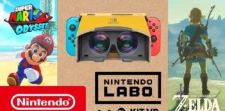 Super Mario Odyssey & The Legend of Zelda- Breath of the Wild – La VR, façon Nintendo Labo