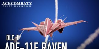 Ace Combat 7: Skies Unknown ADF-11F Raven Set
