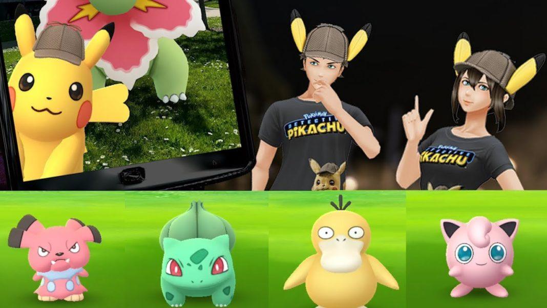 Pokémon Go Détective Pikachu
