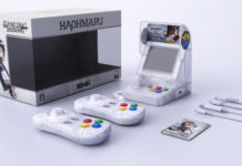 SNK NeoGeo Mini Haohmaru (Blanc transparent) Kit