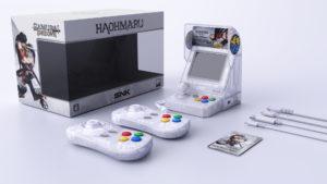 SNK NeoGeo Mini Haohmaru (Blanc transparent) Kit