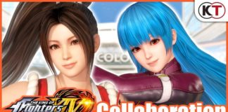 DEAD OR ALIVE 6 x KOF IV - Mai and Kula
