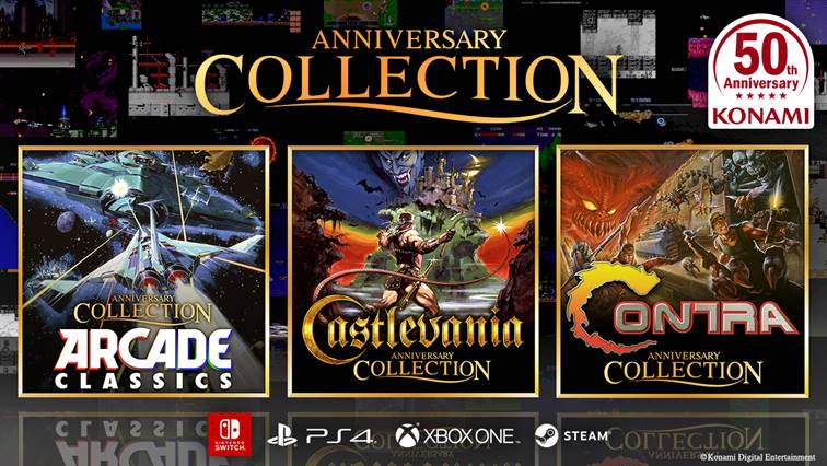 Konami Anniversary Collections