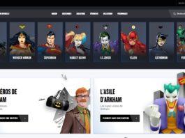 Warner DC FanStore