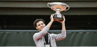 Marvin Nonane RVP, Roland Garros 2019, Roland-Garros eSeries by BNP Paribas, Remise de Prix, Photo : Pauline Ballet / FFT