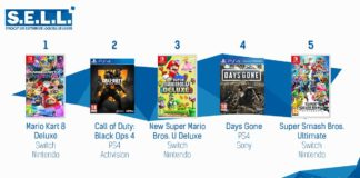 TOP Ventes Jeux Video sem 22 2019