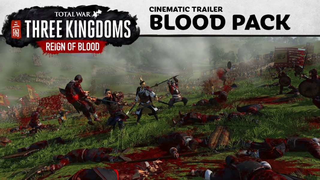 Total War- THREE KINGDOMS - Reign of Blood