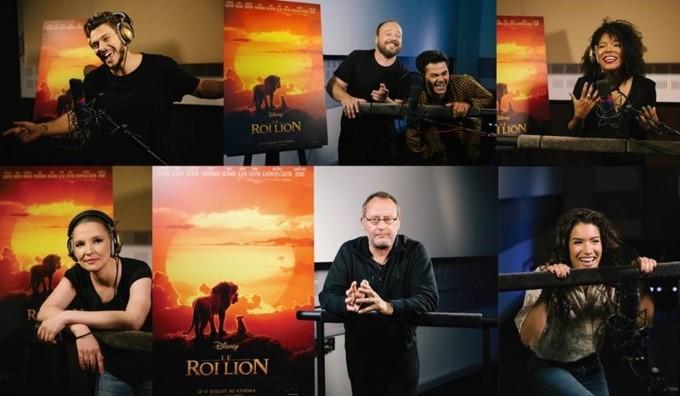 Casting Française Le Roi Lion