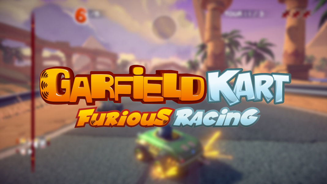 Garfield-Kart-Furious-Racing