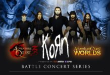 AdventureQuest 3D KORN