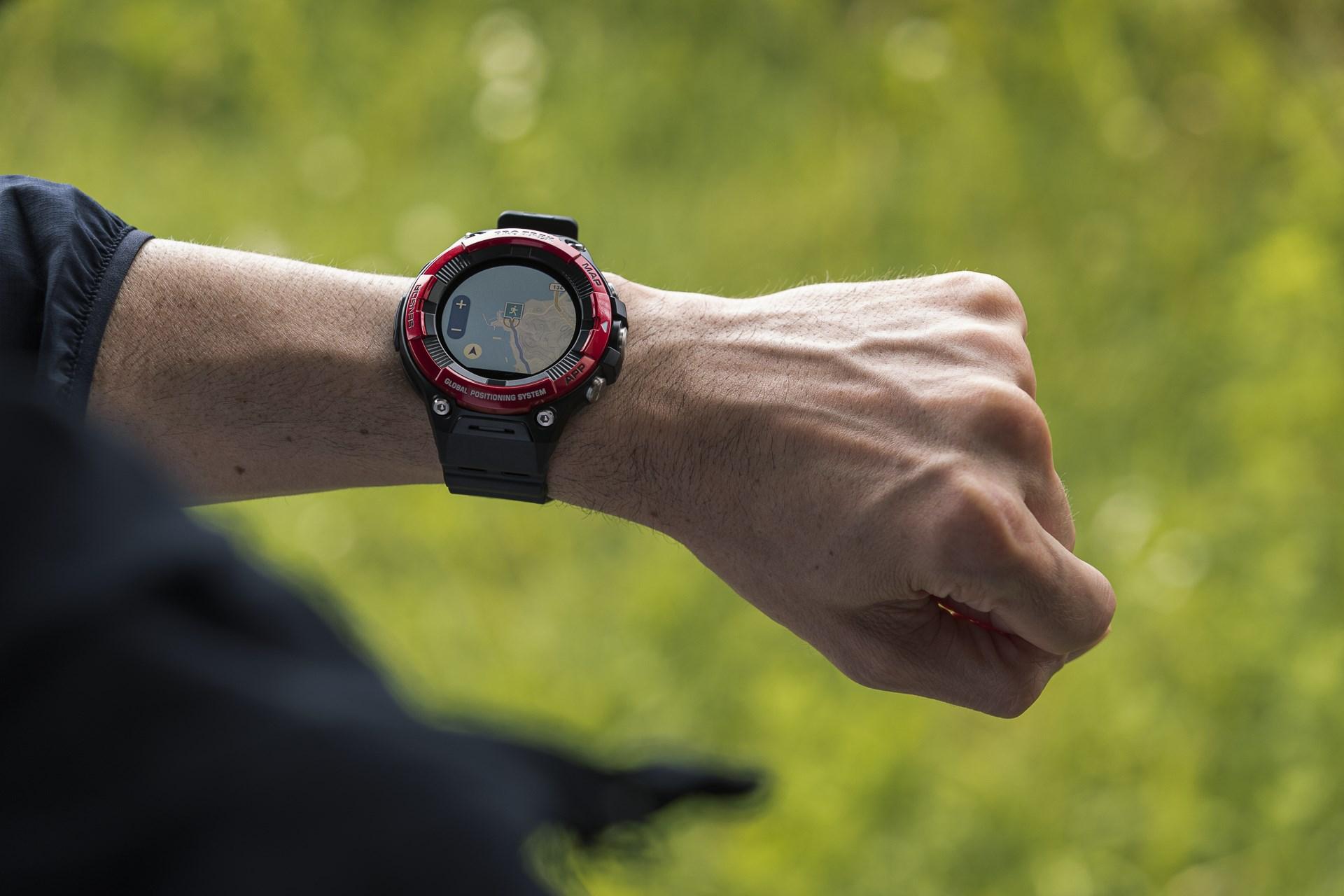 CASIO dévoile sa nouvelle smartwatch PRO TREK WSD F21HR  vhhXN