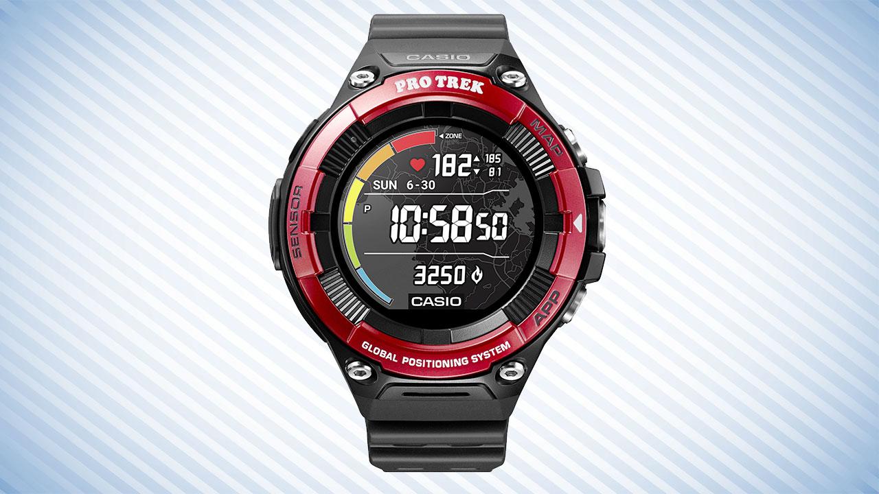 CASIO dévoile sa nouvelle smartwatch PRO TREK WSD F21HR