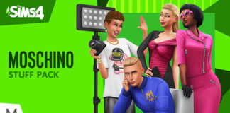 Les Sims 4 Moschino