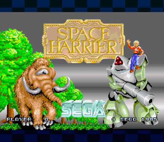 SEGA AGES Space Harrier