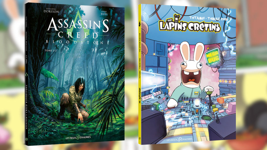 Assassin's-Creed---Bloodstone-Tome-22---The-Lapins-Crétins-Tome-12-–-Méga-Bug---Ubisoft