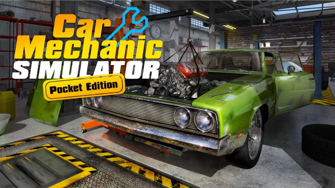 Car Mechanic Simulator Pocket Edition 01 (press material)