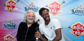 Lords Mobile - Gaël Monfils et Pierre-Alain de Garrigues