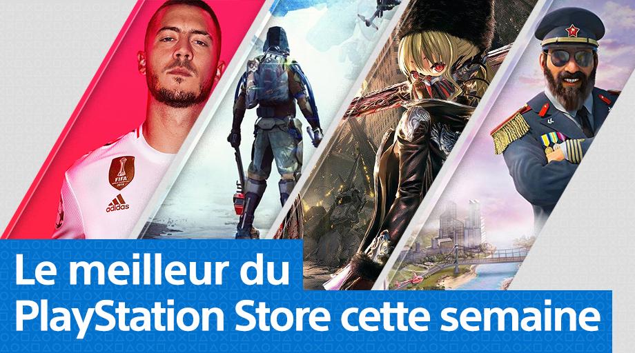 PlayStation Store - Mise à jour du 23 septembre 2019