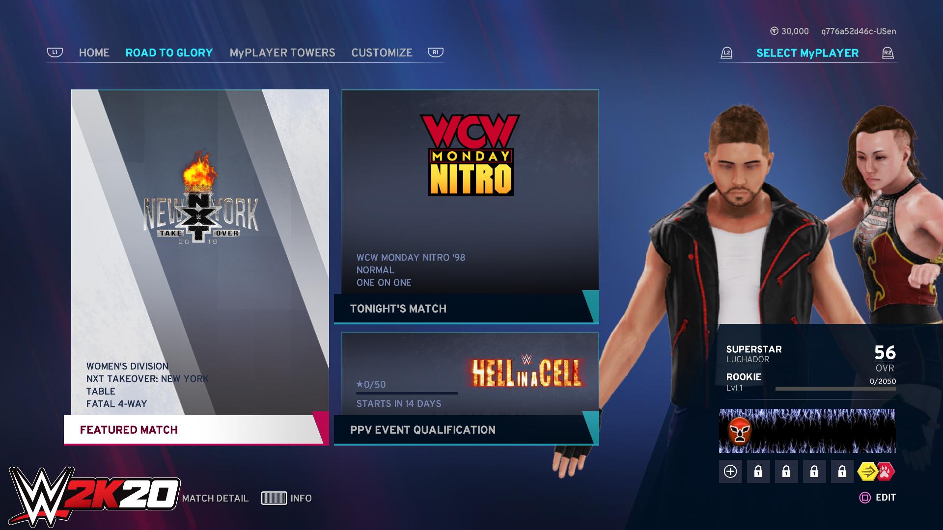 WWE 2K20 online2