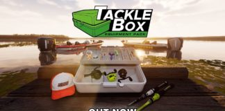 Fishing Sim World Pro Tour Tackle Box Equipment Pack