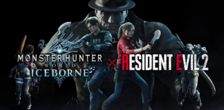 Monster Hunter World: Iceborne X Resident Evil 2