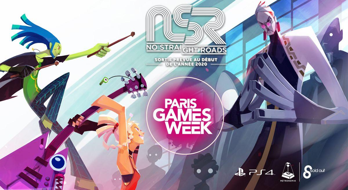Paris Games Week 2020.Pgw 2019 No Straight Roads Sera Present A La Paris Games